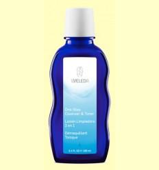 Loción limpiadora 2 en 1 - Weleda - 100 ml