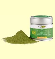 Té Verde Matcha Bio con Aroma a Banana - D&B - 30 gramos