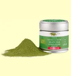 Té Verde Matcha Bio con Aroma a Fresa - D&B - 30 gramos