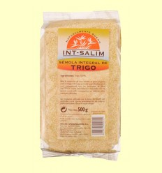 Sémola integral de trigo - Int-Salim - 500 g