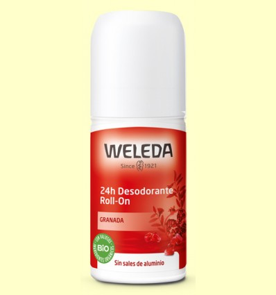 Desodorante Roll-on Granada 24h - Weleda - 50 ml