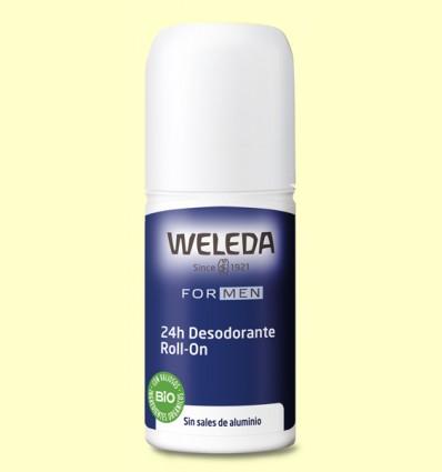 Desodorante Roll-on Men 24h - Weleda - 50 ml
