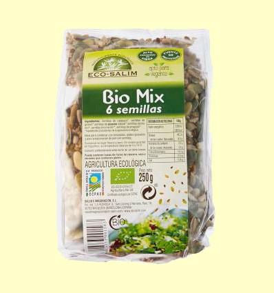 Bio Mix 6 semillas - Eco-Salim - 250 g