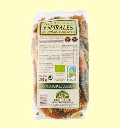 Espirales con Verduras Ecológicos - Eco-Salim - 250 g