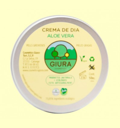 Crema de día de Aloe Vera - Giura - 50 ml