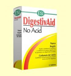 DigestivAid No Acid - Laboratorios ESI - 12 tabletas