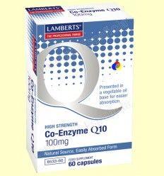 Coenzima Q-10 - Lamberts - 100 mg 60 cápsulas *