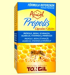 Apicol Própolis - Tongil - 40 cápsulas vegetales