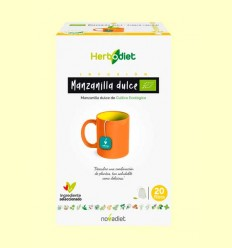 Herbodiet Mazanilla Eco - Novadiet - 20 infusiones