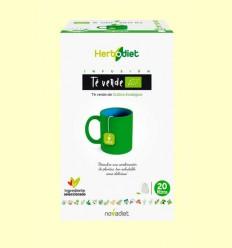 Herbodiet Té Verde Eco - Novadiet - 20 ud