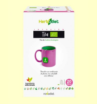 Herbodiet Tila Flor Eco - Novadiet - 20 ud