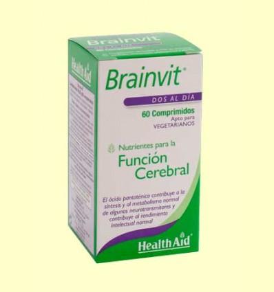 Brain Vit - Ayuda para la memoria - Health Aid - 60 comprimidos