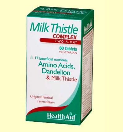 Cardo Mariano Complex - Health Aid - 60 comprimidos