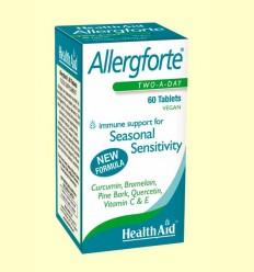 Allergforte - Ayuda contra las alergias - Health Aid - 60 comprimidos