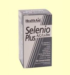 Selenio Plus con Vitaminas A, C, E y Zinc - Health Aid - 60 comprimidos