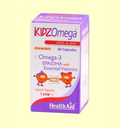 Kidz Omega Masticable - Health Aid - 60 cápsulas