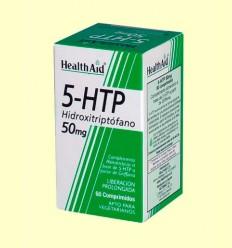 5-HTP 50 mg Liberación prolongada - Health Aid - 60 comprimidos