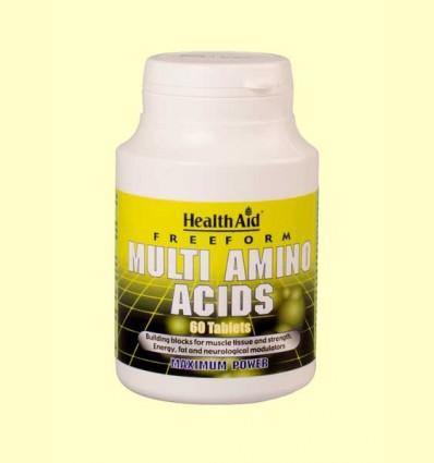 Complejo de Aminoácidos - Forma Libre - Health Aid - 60 comprimidos