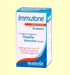 Immutone - Aceite de hígado de tiburón - Health Aid - 30 cápsulas