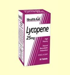 Lycopene - Licopeno - Health Aid - 30 comprimidos