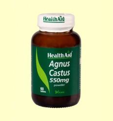 Sauzgatillo - Polvo de baya - Health Aid - 60 comprimidos