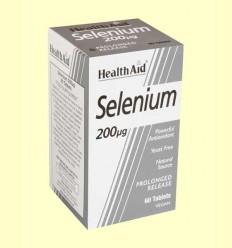 Selenium 200 μg - Selenio - Health Aid - 60 comprimidos