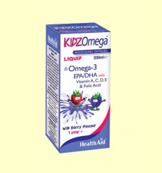 Kidz Omega Liquid - Health Aid - 200 ml