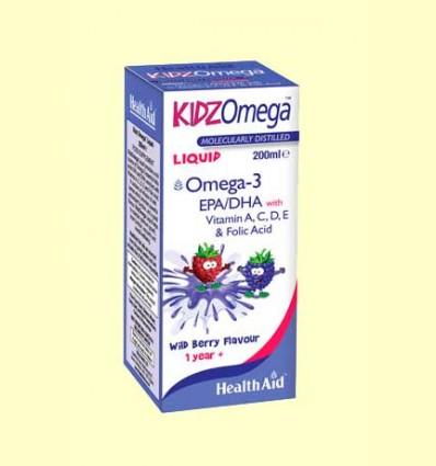 Kidz Omega Liquid - Health Aid - 200 ml