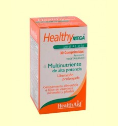 Healthy Mega - Multinutriente - Health Aid - 60 comprimidos