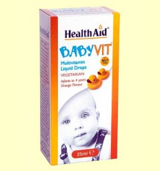 Babyvit - Multinutriente infantil - Health Aid - 25 ml