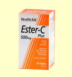 Ester C Plus 500 mg - Health Aid - 60 comprimidos