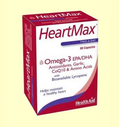 Heart Max - Omega 3 EPA/DHA - Health Aid - 60 cápsulas