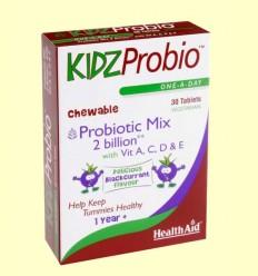 KidzProbio™ Comprimidos Masticables - Health Aid - 30 comprimidos