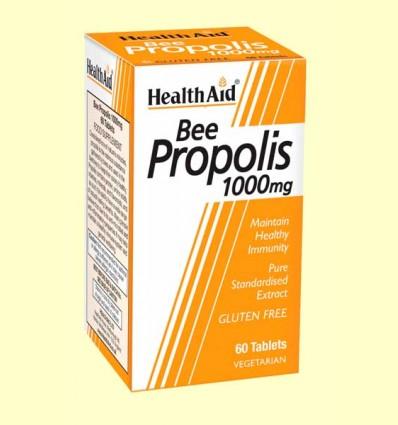 Própolis 1000 - Extracto de propóleo estandarizado - Health Aid - 60 comprimidos