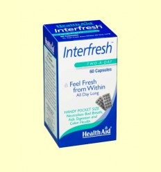 Interfresh - Depurativo y mal aliento - Heath Aid - 60 cápsulas