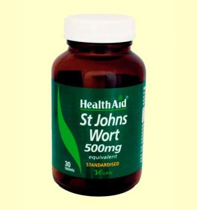 Hipérico 500 mg - Health Aid - 30 comprimidos