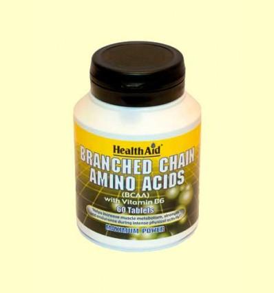 BCAA con Vitamina B6 - Health Aid - 60 comprimidos