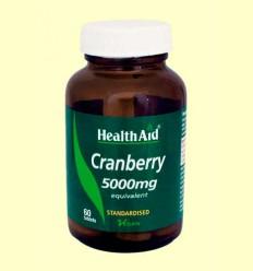 Cranberry 5000 mg - Arándano Rojo - Health Aid - 60 comprimidos