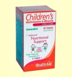 Multinutriente Children's infantil - Health Aid - 30 comprimidos