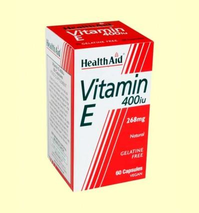 Vitamina E Natural 400 UI - Health Aid - 60 cápsulas