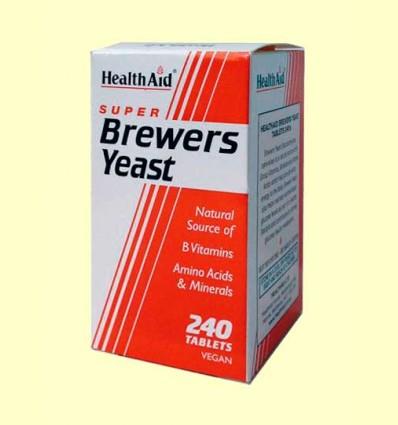 Levadura de Cerveza 300 mg - Health Aid - 240 comprimidos