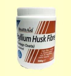Fibra de cáscara de Psyllium Polvo - Health Aid - 300 gramos