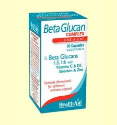 Betaglucan Complex - Health Aid - 30 cápsulas