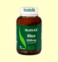 Maca 500 mg - Health Aid - 60 comprimidos