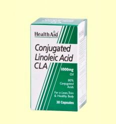CLA Ácido Linoleico Conjugado - Control del peso - Health Aid - 30 cápsulas