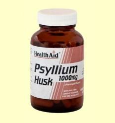 Fibra de cáscara de Psyllium - Health Aid - 60 cápsulas