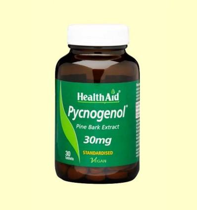 Pycnogenol 30 mg - Health Aid - 30 comprimidos
