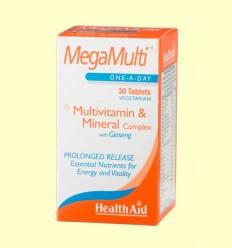 Megamulti con Gingseng - Health Aid - 30 comprimidos