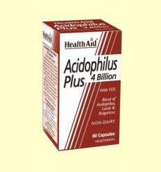 Acidophilus Plus (4000 millones) - Health Aid - 60 cápsulas