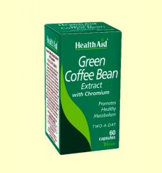 Café Verde con Cromo - Health Aid - 60 Cápsulas